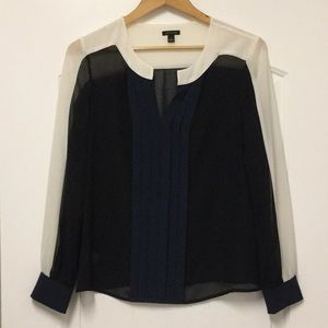 Sheer blouse by Ann Taylor